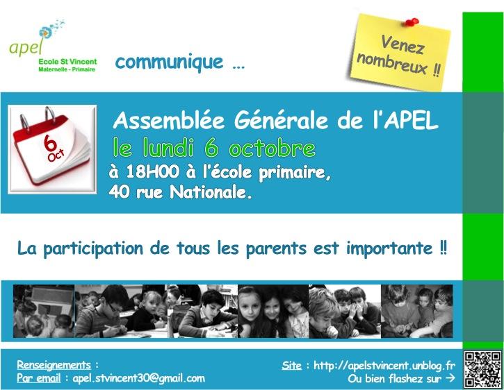 Com#29 Convocation AG V 22 09 14